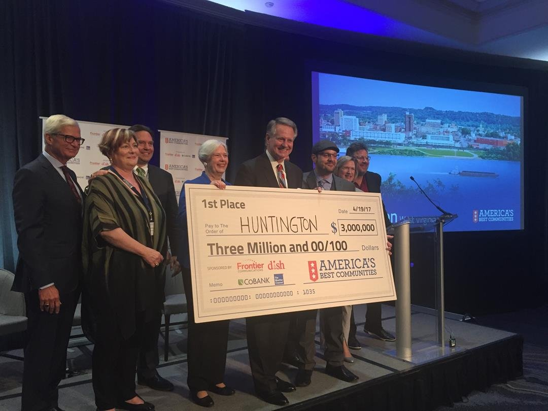 breaking news sports stormtracker 13 weather west virginia huntington wins america s best communities competition 3 million dollar prize video included