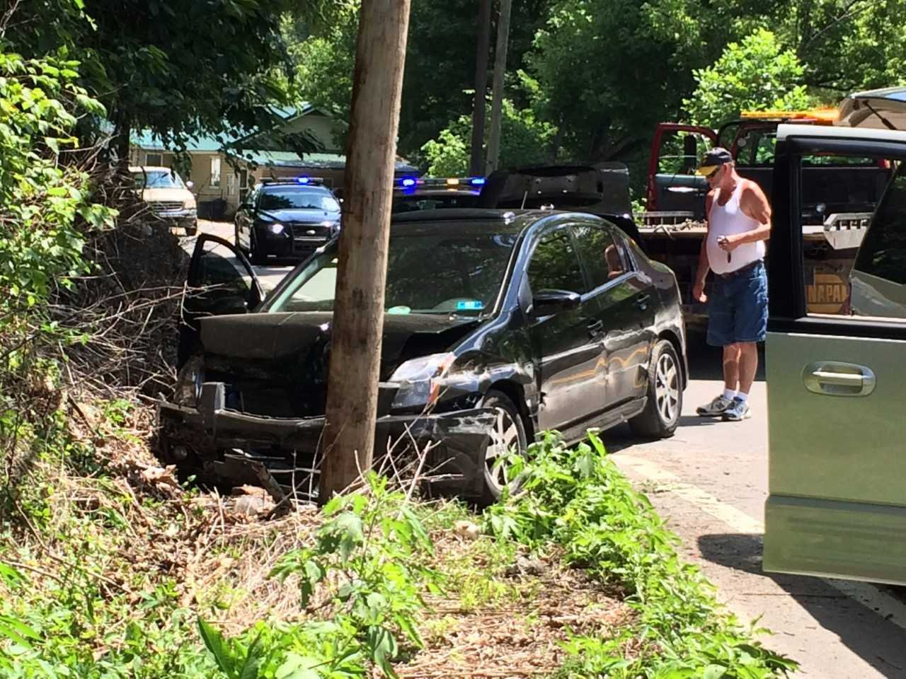 road reopened after accident in campbell u0027s creek wowk 13