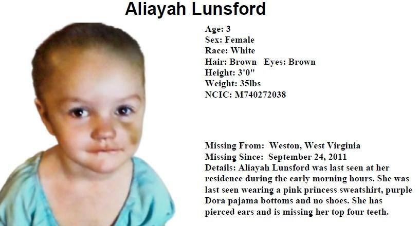 Aliayah Lunsford -- Missing 9/24/11 - Page 11 16352112_BG1