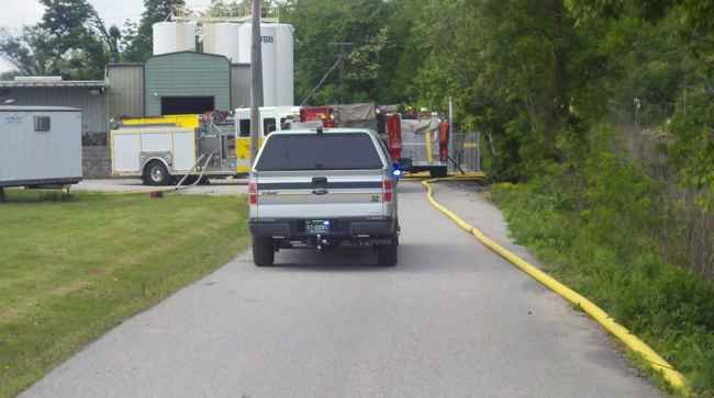 Explosion at Airgas plant in Putnam County injures 2 workers - WOWK 13