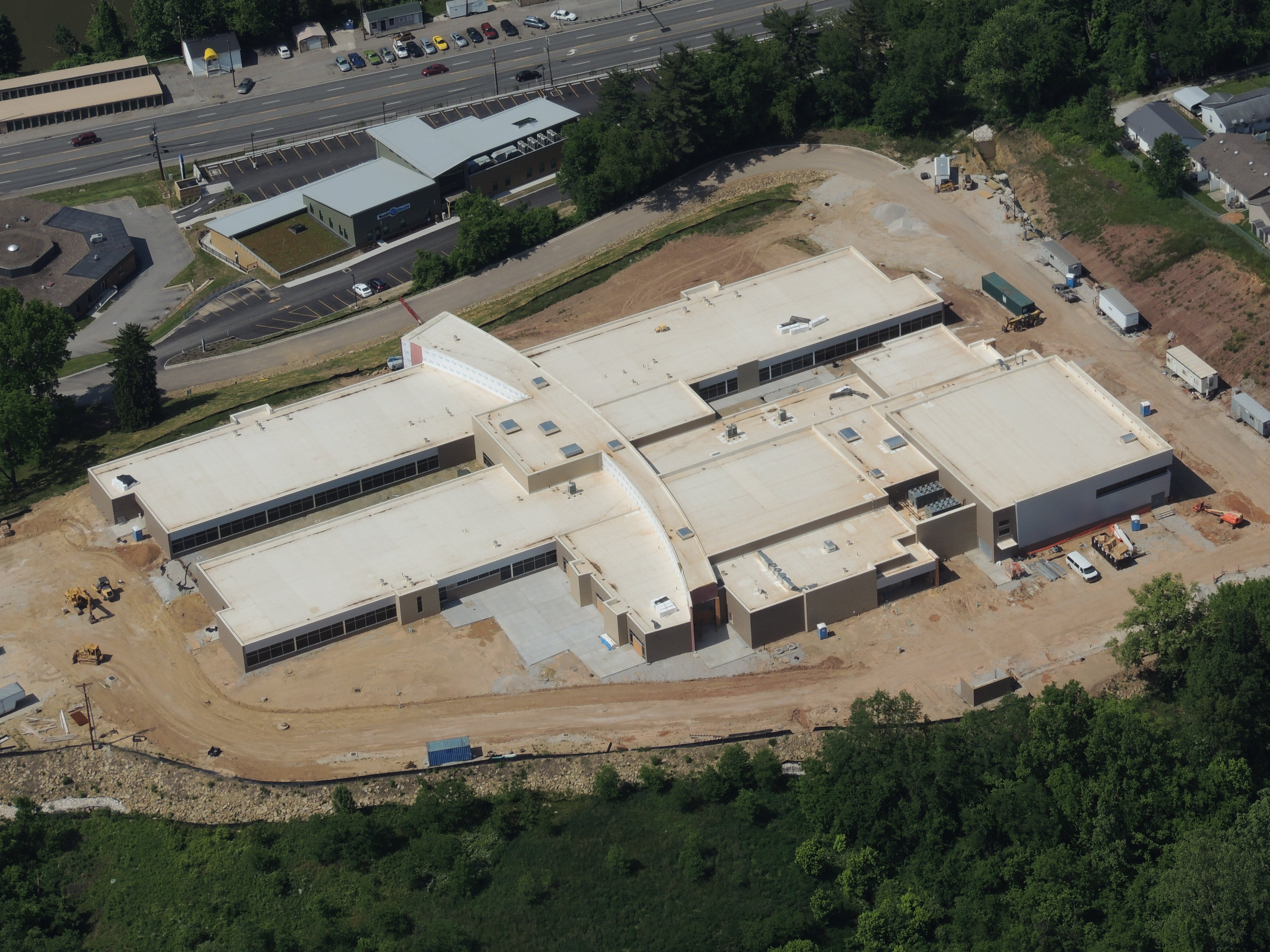 New Huntington East Middle School progressing - WOWK 13 Charleston ...