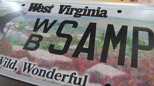 New style of license plate heading to west virginia wowk for Wv dept motor vehicles charleston