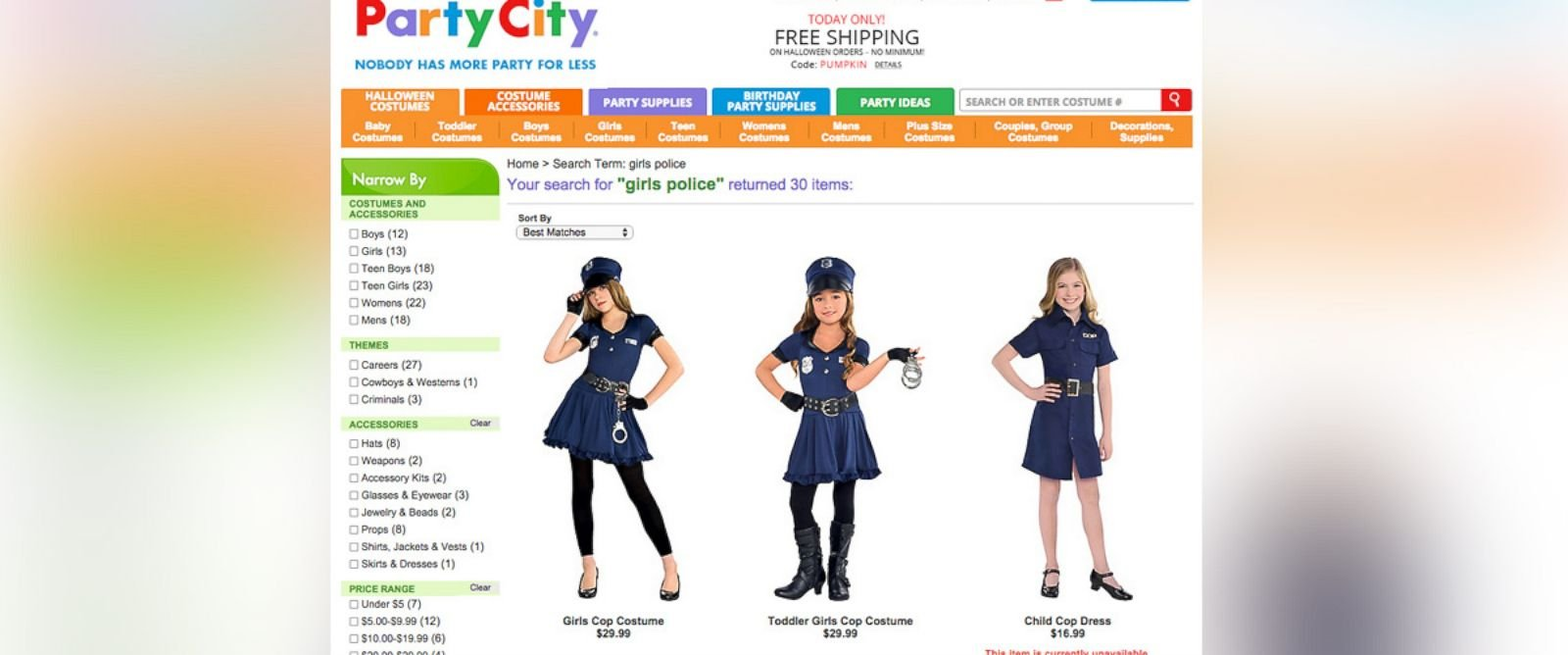 Mom writes open letter to Party City over sexualized costume opt ...